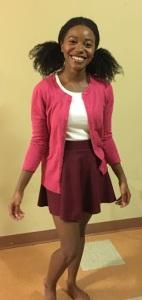 Posing as Penny Proud for Halloween | petitelypackaged.com | petite | black girl halloween costume