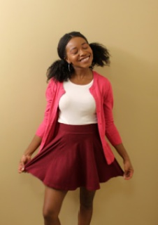 Posing as Penny Proud for Halloween | petitelypackaged.com | petite | halloween costume