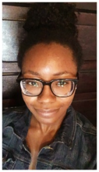 chamberlain frames from warby parker with 1.72 high index lens. | petitely packaged | natural hair