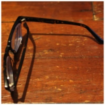 warby parker chamberlain frames with 1.72 high index lens | petitely packaged