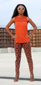 Channeling my inner 70s diva with funky patterns and bright colours | petite crew | petitelypackaged.com